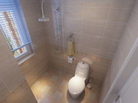卫生间背景墙现代简约风格装修效果图