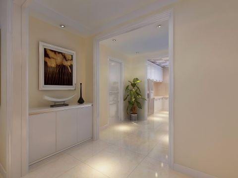 客厅门厅现代简约风格装潢图片