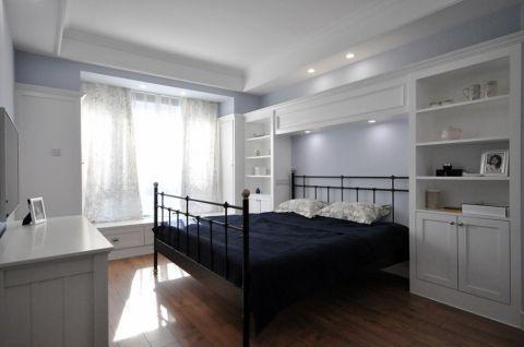 卧室博古架混搭风格效果图