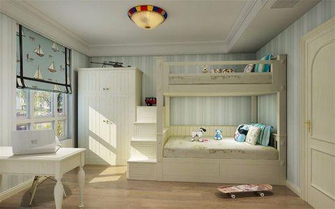 儿童房窗帘美式风格装潢设计图片