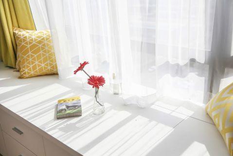 卧室飘窗北欧风格装修效果图