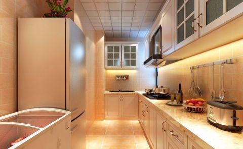 厨房橱柜简欧风格装潢图片
