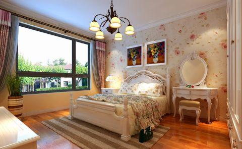 卧室梳妆台简欧风格装潢设计图片