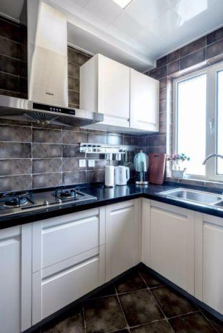 厨房橱柜后现代风格装潢设计图片