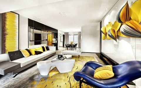 客厅沙发现代风格装饰效果图