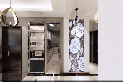 厨房地板砖现代简约风格装修效果图