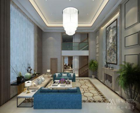 混搭风格180平米别墅房子装饰效果图