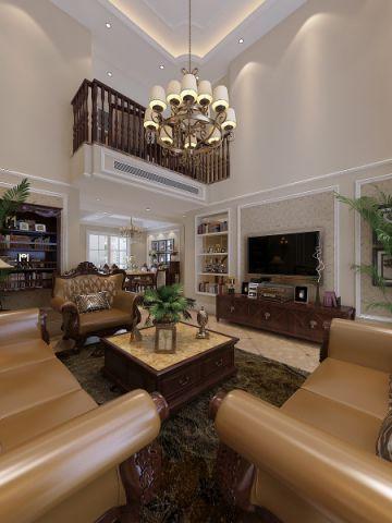 美式风格250平米复式新房装修效果图