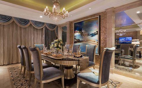 餐厅灯具新古典风格效果图