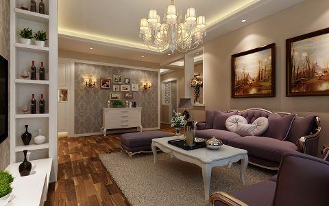 新古典风格100平米楼房房子装饰效果图