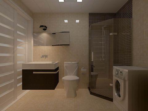 卫生间吊顶现代简约风格装修图片