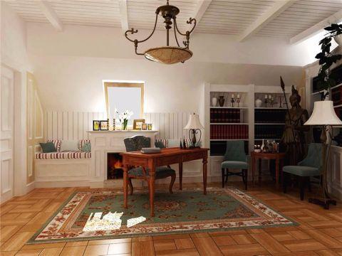 美式风格100平米两室两厅室内装修效果图
