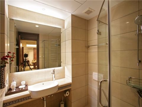 卫生间新中式风格装饰设计图片
