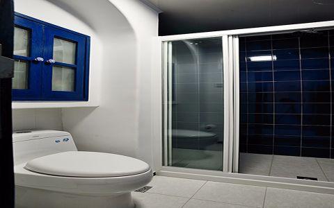 卫生间推拉门地中海风格装饰设计图片