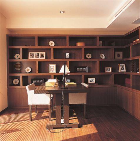 书房地板砖简约风格装饰图片