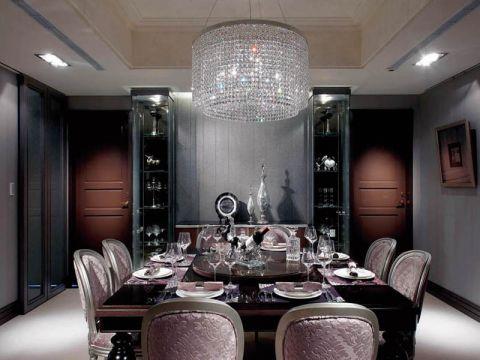 餐厅灯具简约风格装潢设计图片