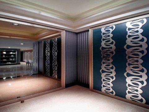 玄关背景墙简约风格效果图