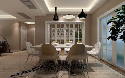 餐厅推拉门现代风格装饰设计图片