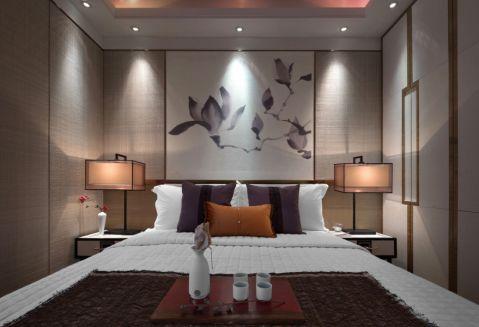 卧室背景墙经典风格装潢效果图