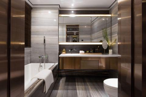 卫生间洗漱台经典风格装修图片