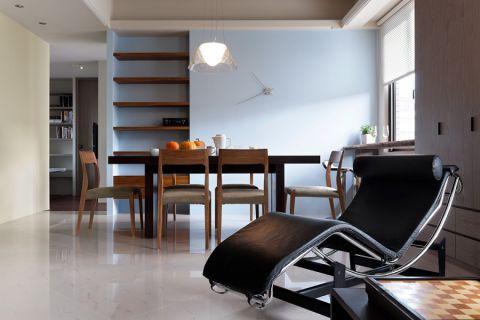 餐厅地砖现代简约风格装修设计图片