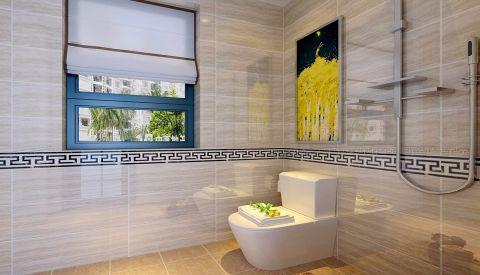卫生间现代简约风格装修设计图片