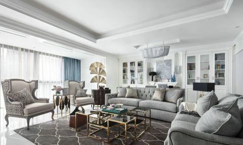 北欧风格120平米公寓室内装修效果图