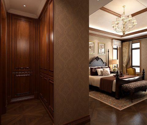 卧室隔断欧式风格装修图片