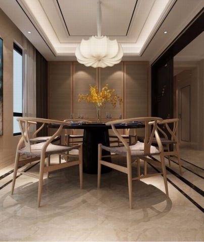 餐厅灯具新中式风格装饰效果图
