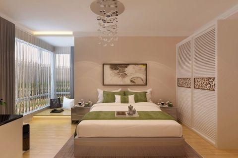 卧室衣柜韩式风格装潢图片