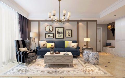 法式风格150平米四室两厅室内装修效果图