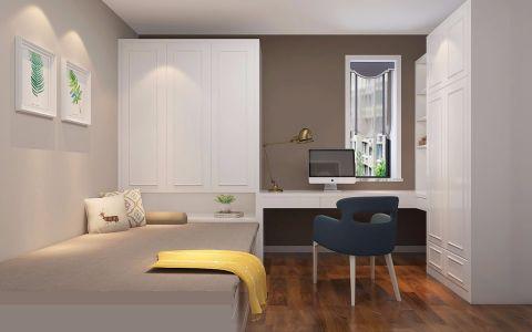 卧室衣柜法式风格装饰图片