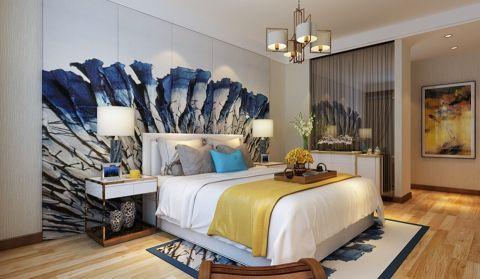 卧室地板砖现代简约风格效果图