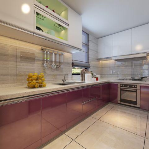 厨房地板砖现代简约风格装饰图片