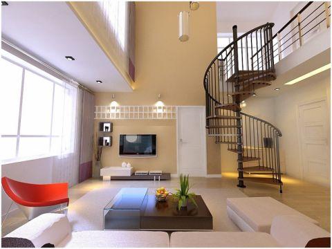 现代风格50平米跃层房子装饰效果图