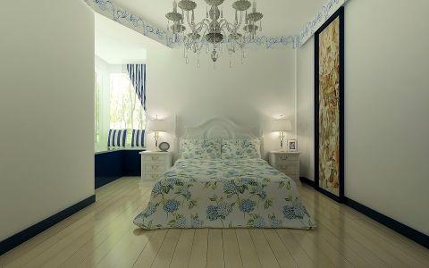 卧室灯具混搭风格装修设计图片