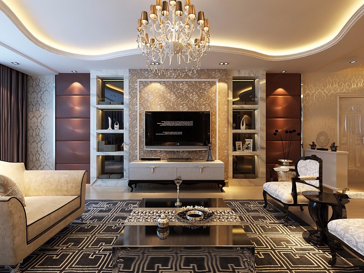 2室1卫2厅欧式风格
