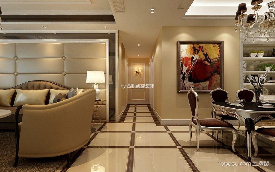 2020美式餐厅效果图 2020美式走廊装修设计图片