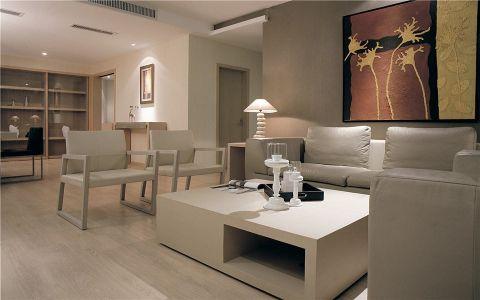 客厅现代简约风格装修设计图片