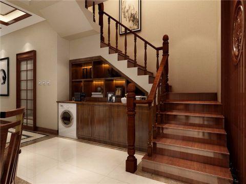 客厅楼梯简约风格装潢图片