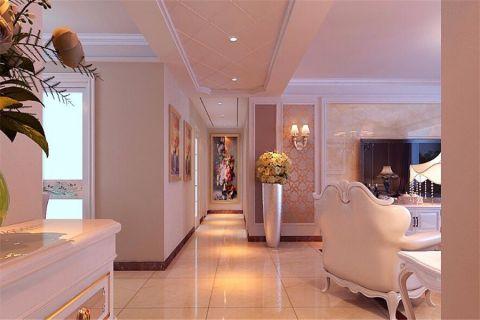 客厅走廊欧式风格装饰效果图