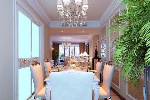 餐厅灯具欧式风格装潢效果图