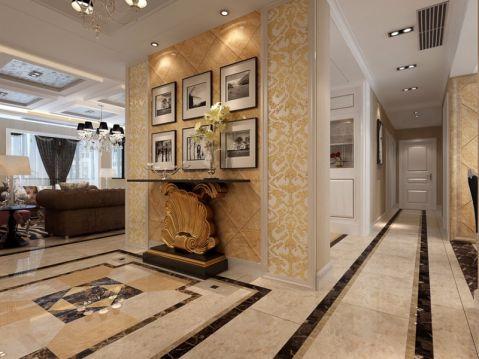 混搭风格300平米跃层新房装修效果图