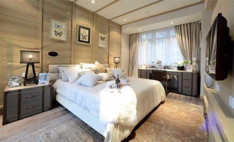 日式风格90平米公寓新房装修效果图
