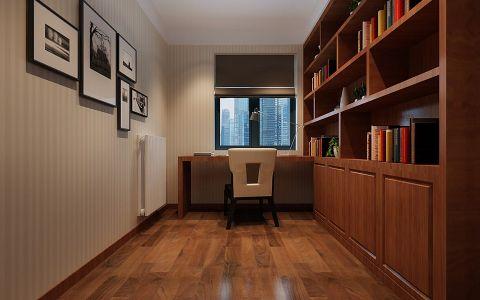 书房博古架现代风格装修图片