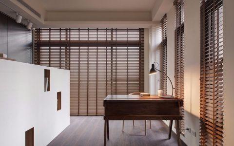 书房书桌现代简约风格装修图片