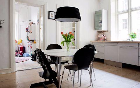 餐厅灯具北欧风格装修效果图