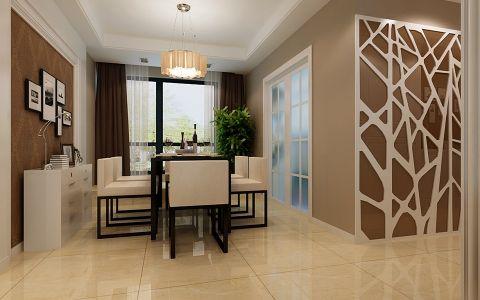 现代简约风格120平米大户型新房装修效果图