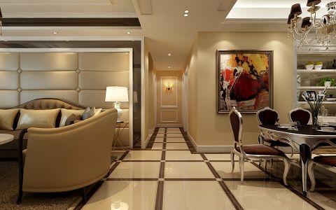 餐厅走廊美式风格装饰效果图
