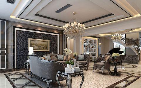 新古典风格150平米复式室内装修效果图